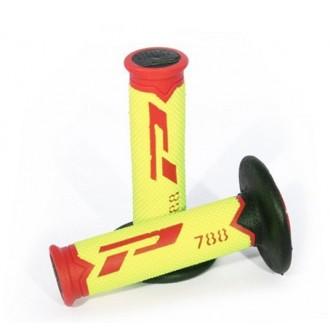 PROGRIP MANETKI 788 115MM czer/żółt-fluo/czarny