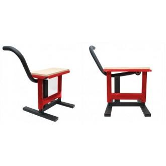 STOJAK stołek mx czerwony