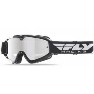 Gogle OFF ROAD FLY ZONE blk/white chrome lens