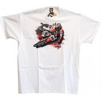 NO FEAR koszulka T-shirt Supreme dziecięca biała M