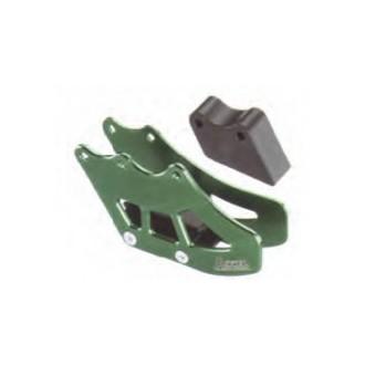 ACCEL prowadnica łańcucha zielona KX 125/250 97-06