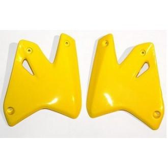 Osłony chłodnicy UFO Suzuki DRZ400S/E 00-09 żółte