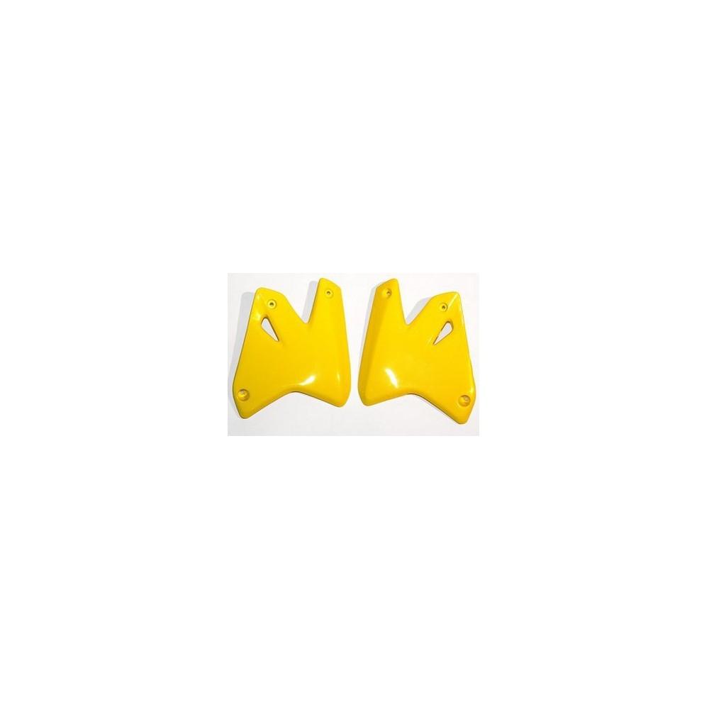 UFO osłony chłodnicy Suzuki DRZ400S/E 00-09 żółte
