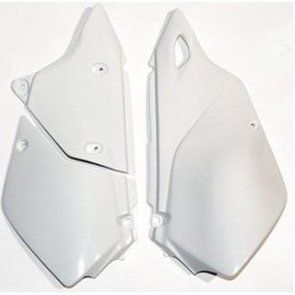 UFO boczki osłony tylne Suzuki DRZ400E 00-09 białe