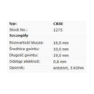 Świeca zapłonowa NGK CR8E 1275