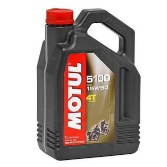 Olej silnikowy MOTUL 4T 5100 15W50 4L
