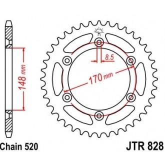 Zębatka tylna JTR828.42