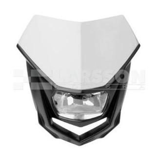 Reflektor przedni POLISPORT Halo biały