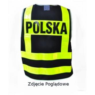 Kamizelka odblaskowa Polska BIKEVEST roz XL