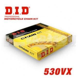 Komplet napędowy DID 530 VX zębatki JT 15 / 47 Z
