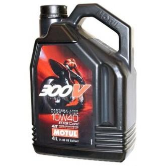 Olej silnikowy MOTUL 300V 10w40 syntetyczny 4L