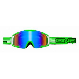 Gogle Oneal B2 THREESIXZERO Radium Green