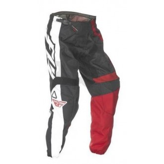 Spodnie OFF ROAD FLY F-16 black/red 30