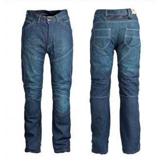 ROLEFF jeansy model Kevlar niebieski roz 32