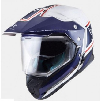 Kask dual MT Synchrony Duo Vintage roz S