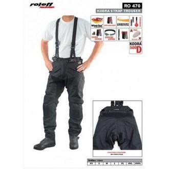 ROLEFF spodnie tekstylne z szelkami RO470 roz M