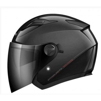 MT KASK OTWARTY JET Z BLENDĄ blk XL