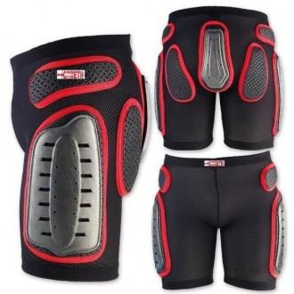 Spodenki z ochraniaczami XXL Gareth MX Legs