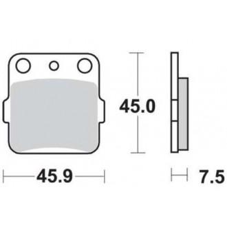 Klocki hamulcowe KH84 TRW MCB561SI