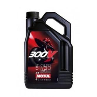 Olej silnikowy Motul 300V 5w30 4T Syntetyk 4L