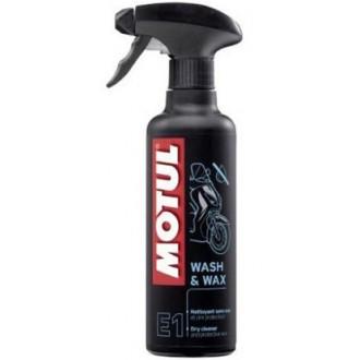 Środek czyszcząco-ochronny MOTUL E1 WASH&WAX 400ml
