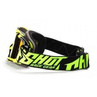 Gogle Shot Racing Volt Neon Jaune żółto/czarne