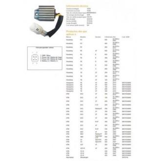 DZE Regulator napięcia (12V-12A) KTM EXC