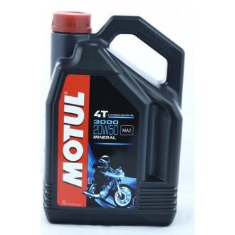 Olej silnikowy MOTUL 3000 20W50 mineralny 4L