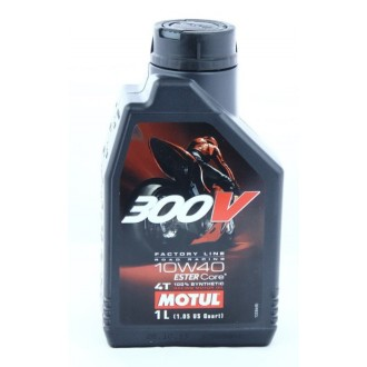 Olej silnikowy MOTUL 300V 10W40 ROAD RACING 1L