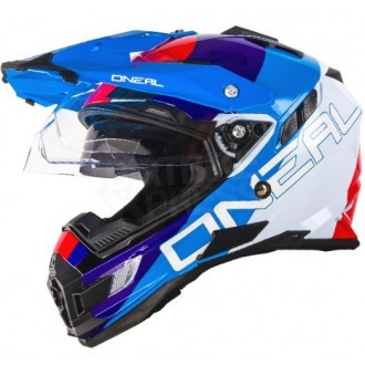 Kask Oneal Sierra Adventure Edge white/red/blue