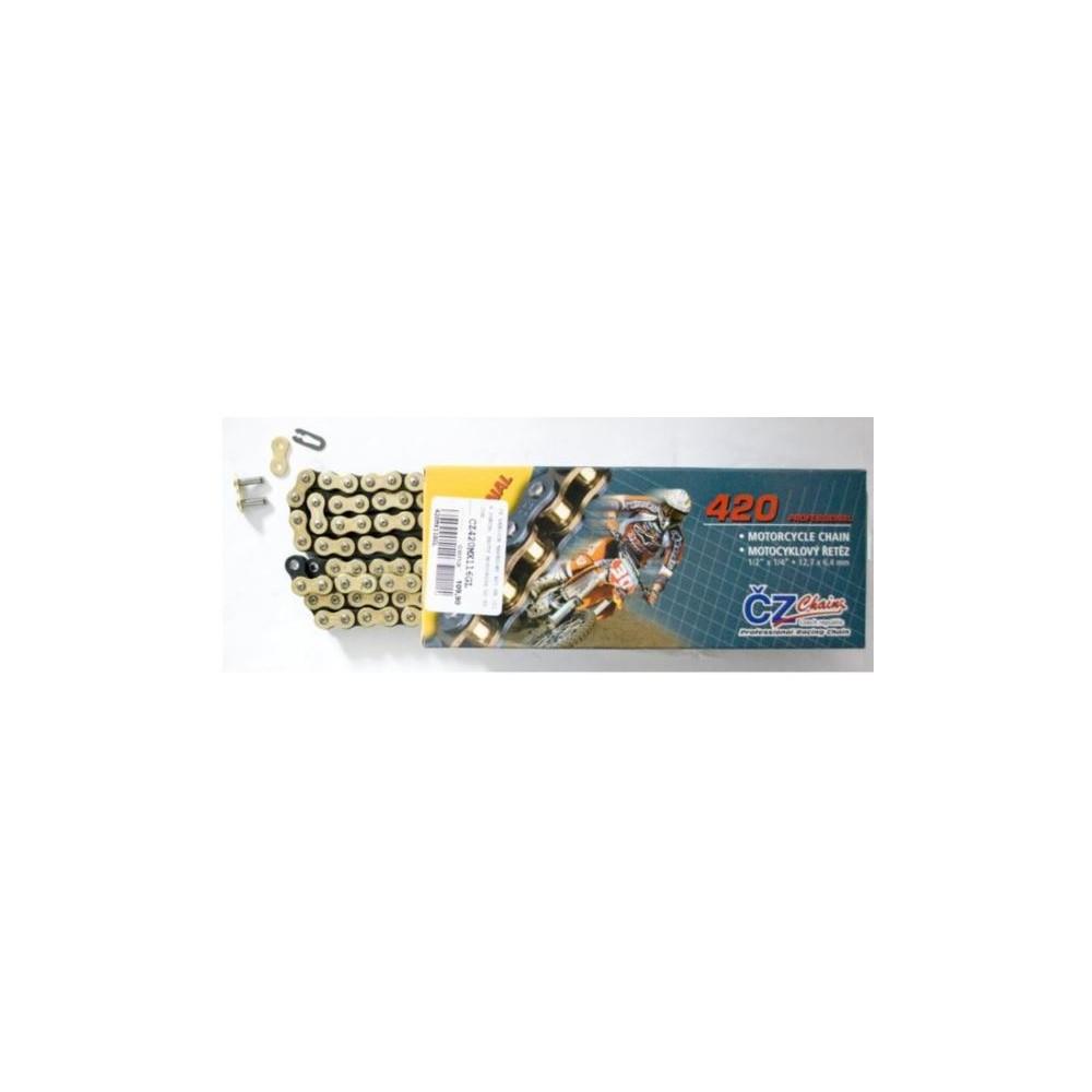 Łańcuch napędowy CZ 420 MX złoty do 85ccm 22kN