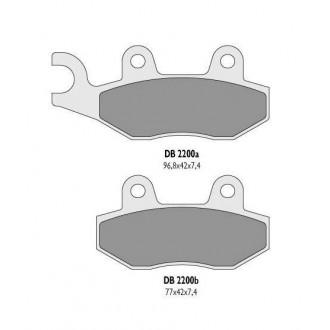 Klocki hamulcowe Delta DB 2200 MX-D KH135 KH214