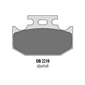 Klocki hamulcowe Delta DB 2210 MX-D KH152 KH152/2