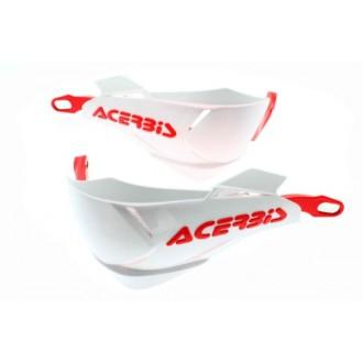 Handbary Acerbis X-Factory biało-czerwone