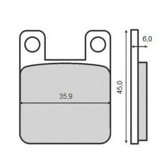 Klocki hamulcowe KH115 Siffert MP116
