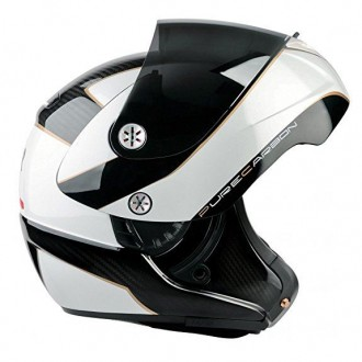 Kask Lazer Monaco EVO Window Pure Carbon L white