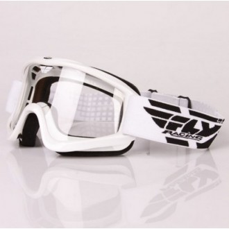Gogle OFF ROAD FLY FOCUS WHITE