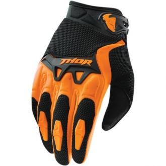 Rękawice dziecięce M Thor Spectrum pomarańczowe