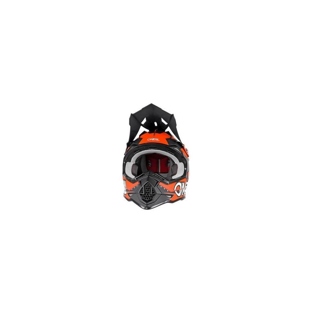 Kask XL orange Slingshot Oneal Seria 2