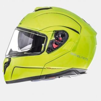 Kask M szczękowy Flip-Up Atom MT Helmets żółty flu
