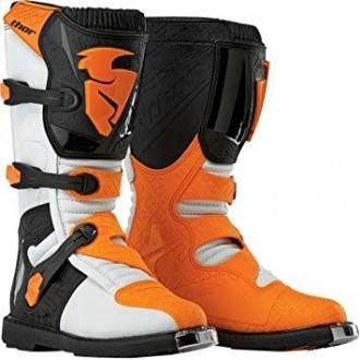 Buty 44,5 Thor Blitz S5 biało-pomarańczowe