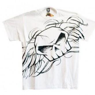 NO FEAR koszulka T-shirt Flying Doom biała M