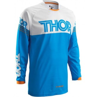 Koszulka cross enduro THOR Phase hyperion blue M