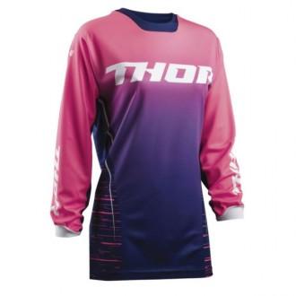 Koszulka S damska Thor Dashe gran-różowa