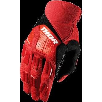 Rękawice M Thor S7 Rebound czerwono-czarne