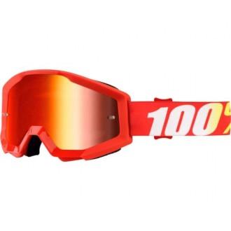 Gogle 100% PROCENT Strata Furnace czerwone