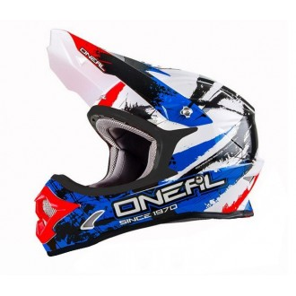 ONEAL Shocker kask Seria 3 blk/blue/red roz L