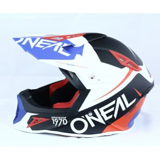 Kask Oneal Seria 10 Flow Blue/Red