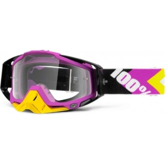 Gogle 100% Racecraft Hyperion 4 Black/pink