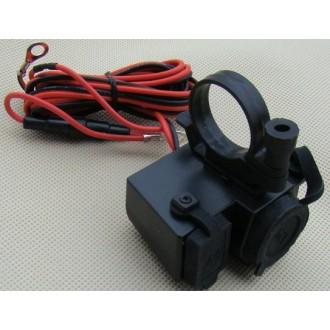 Gniazdo zapalniczki i USB do motoru 12V 5V USB ATV